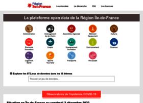 data.iledefrance.fr