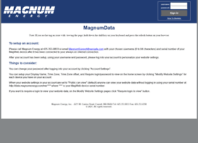 data.magnumenergy.com