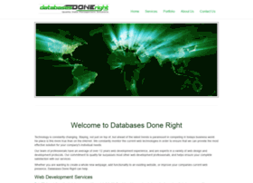 databasesdoneright.com