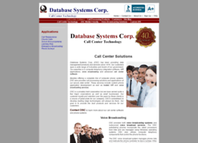 databasesystemscorp.com