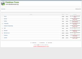 databaseteam.org