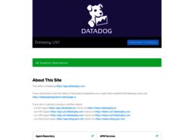 datadog.statuspage.io