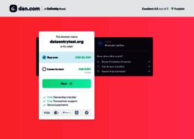 dataentrytest.org