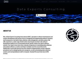 dataexpertsconsulting.com