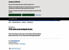 datagateway.phe.org.uk
