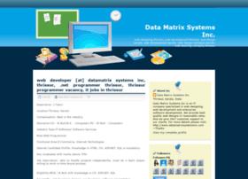 datamatrixsystemsinc.blogspot.com