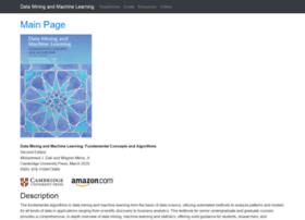 dataminingbook.info