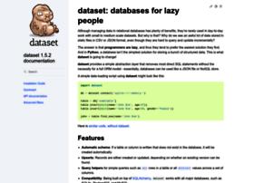 dataset.readthedocs.org