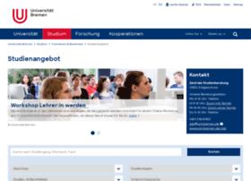 datenbankstudium.uni-bremen.de