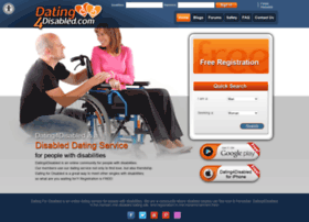 Disabled dating websites free