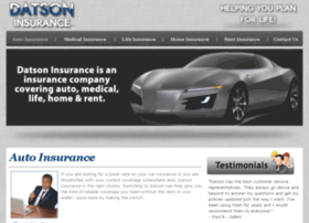 datsoninsurance.com