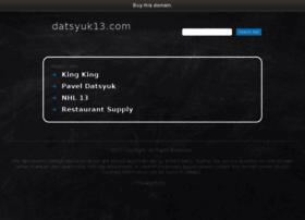 datsyuk13.com