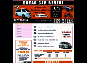 davaocarrental.com