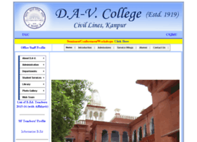 davcollegekanpur.com