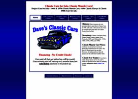 Daves-classic-cars.com