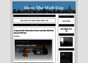 davethewebguy.com
