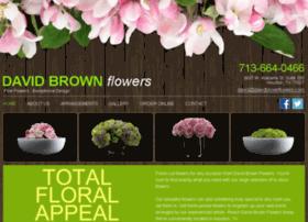 davidbrownflowers.com