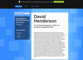 davidhenderson.brandyourself.com