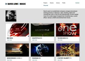 davidlowemusic.com