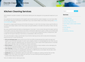 davidscleaningservices.co.uk