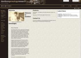 davidsongenealogy.com