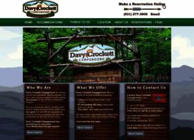 davycrockettcampground.com