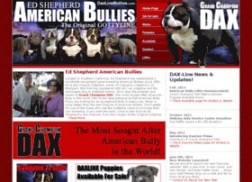 daxlineamericanbullies.com