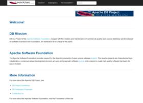 db.apache.org