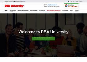 dbauniversity.com