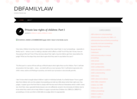dbfamilylaw.wordpress.com