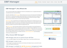 dbfmanager.com