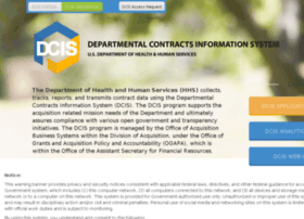 dcis.hhs.gov