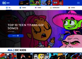 dcnationcomics.kidswb.com