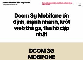dcom3gmobifone.com