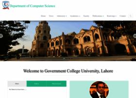 dcs.gcu.edu.pk