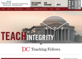 dcteachingfellows.org