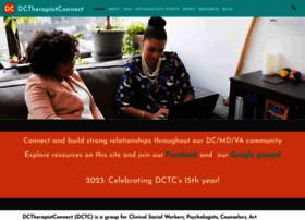 dctherapistconnect.com