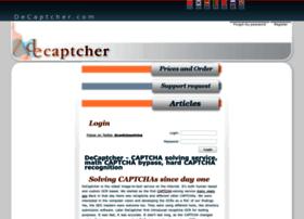 de-captcher.com