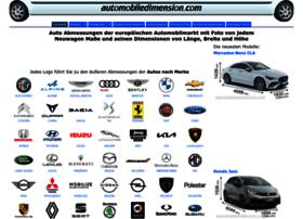 de.automobiledimension.com