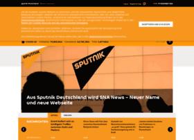 de.sputniknews.com