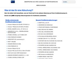 de.whatsthatcharge.com