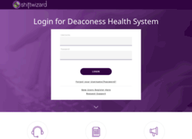 deaconess.myshiftwizard.com