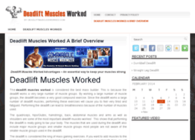 deadliftmusclesworked.com