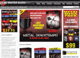 deadwinteraudio.com