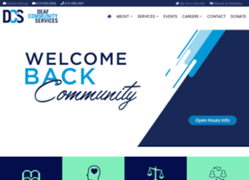 deafcommunityservices.org