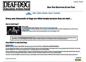 deafdogs.org