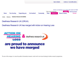 deafnessresearch.org.uk