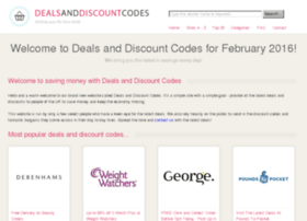 dealsanddiscountcodes.co.uk