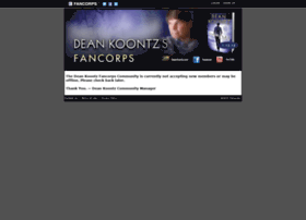 deankoontz.fancorps.com