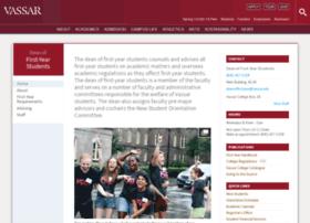 deanoffreshmen.vassar.edu